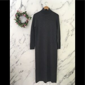 VTG Ralph Lauren 100% Merino Wool Sweater Dress